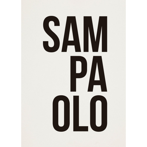 """Poster """"Sampaolo"""""""